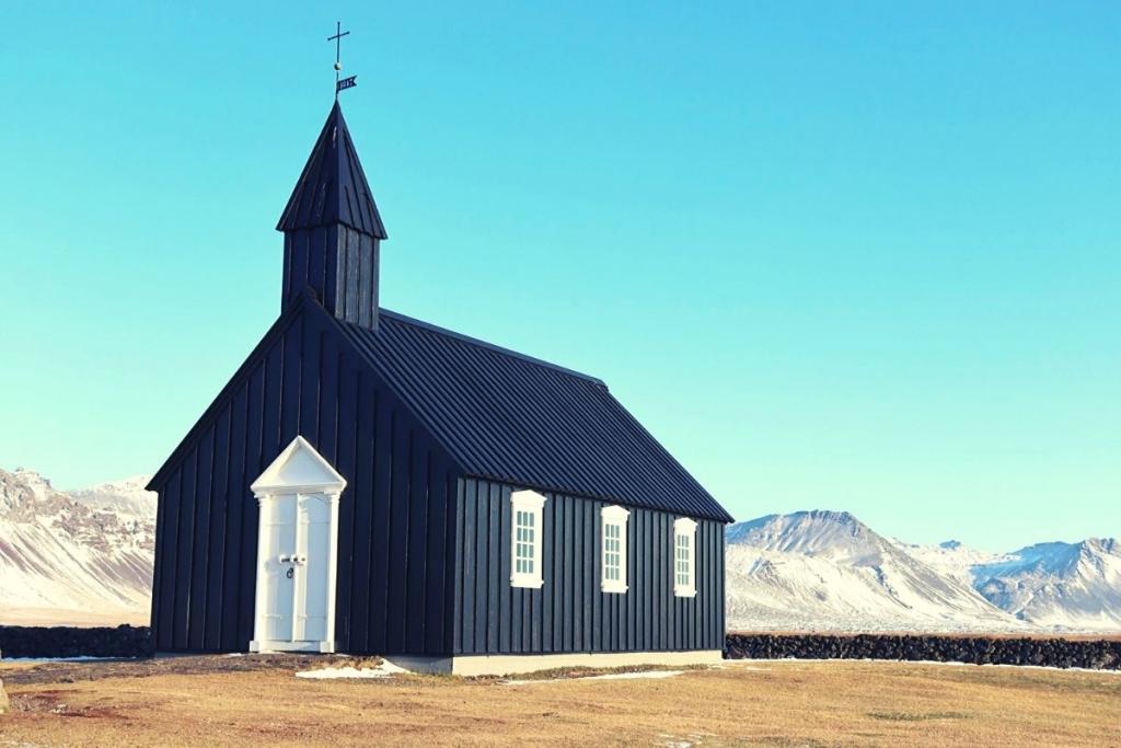 Black Church Snaefellsnes