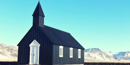 Black Church Snaefellsnes Peninsula
