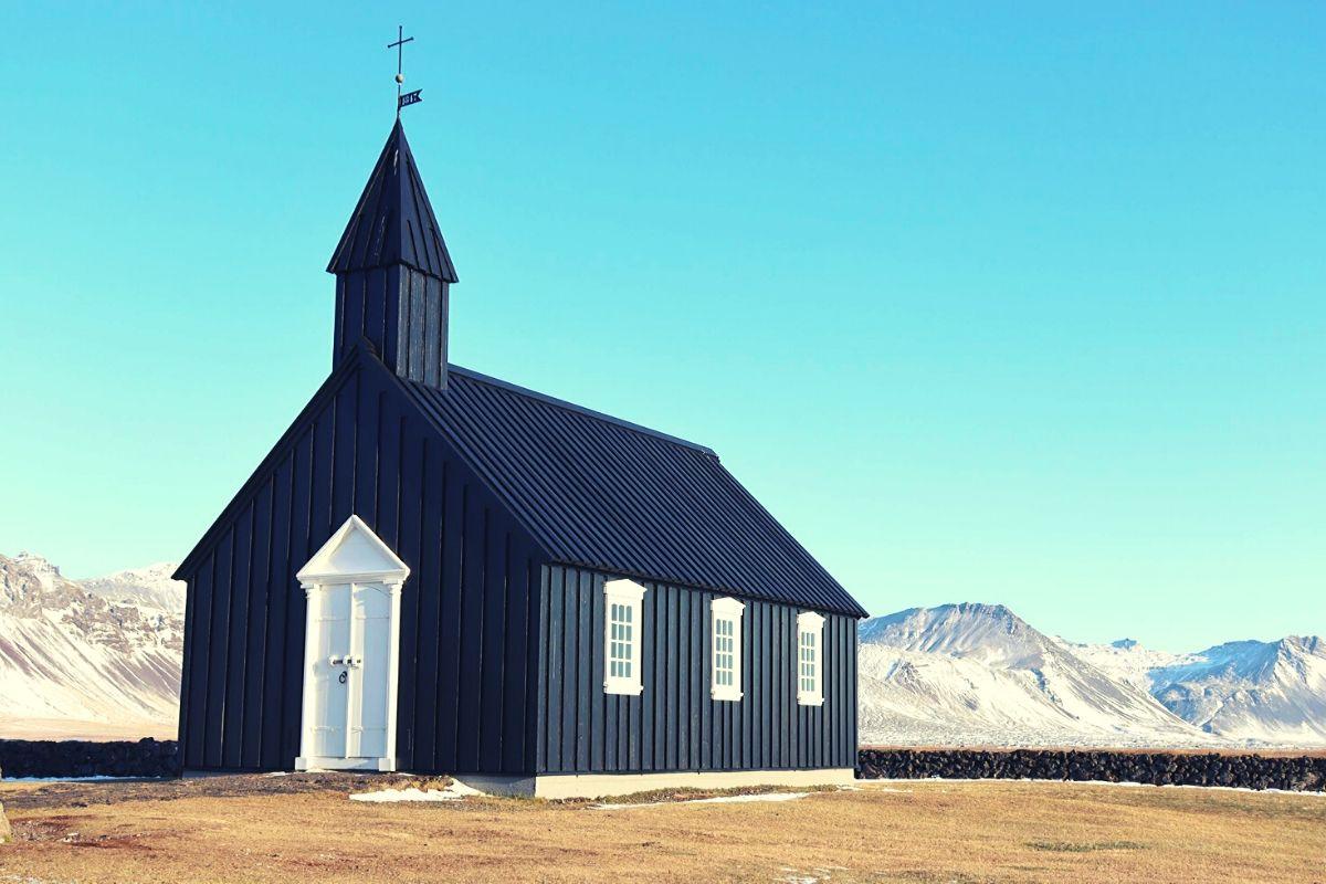 Black Church Snaefellsnes Peninsula