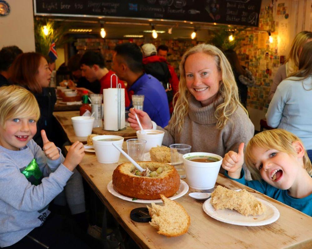 Icelandic Street Food soup