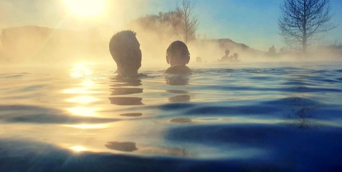 Secret Lagoon hot springs Iceland