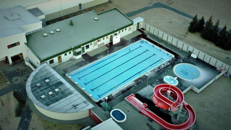 Swimming pool hvolsvollur