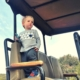 safari game drive with kids