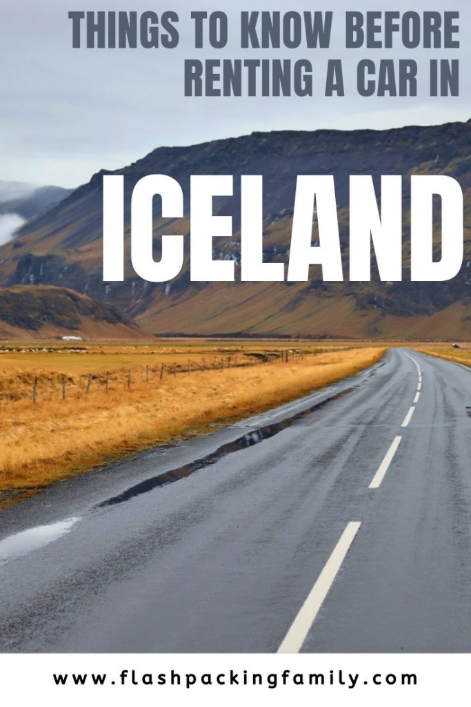 Hiring a car in Iceland