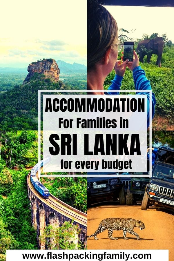 family accommodation in Sri Lanka