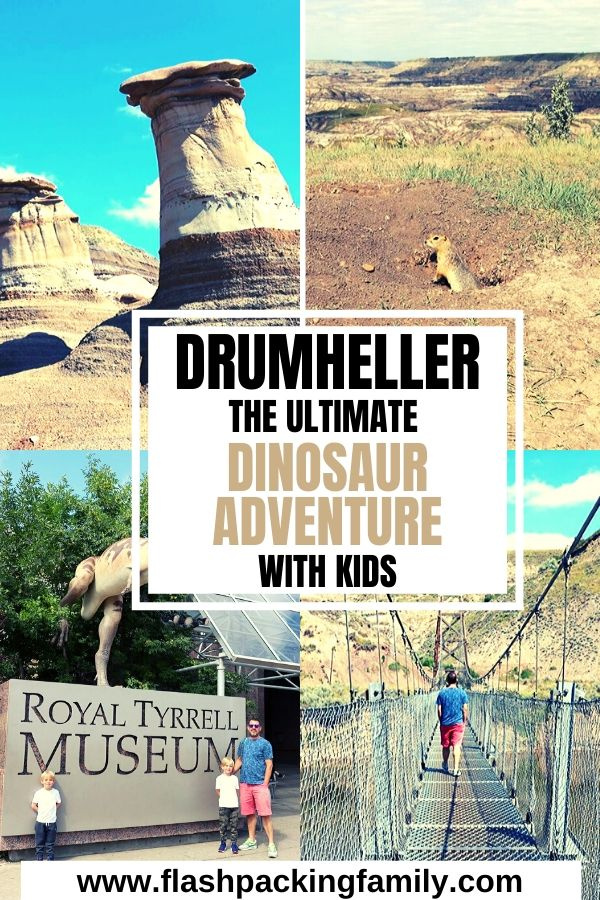 Drumheller the ultimate dinosaur adventure with kids