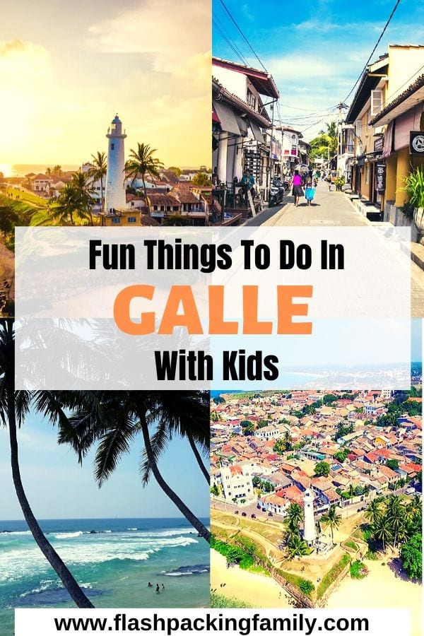 Fun things to do in Galle with kids