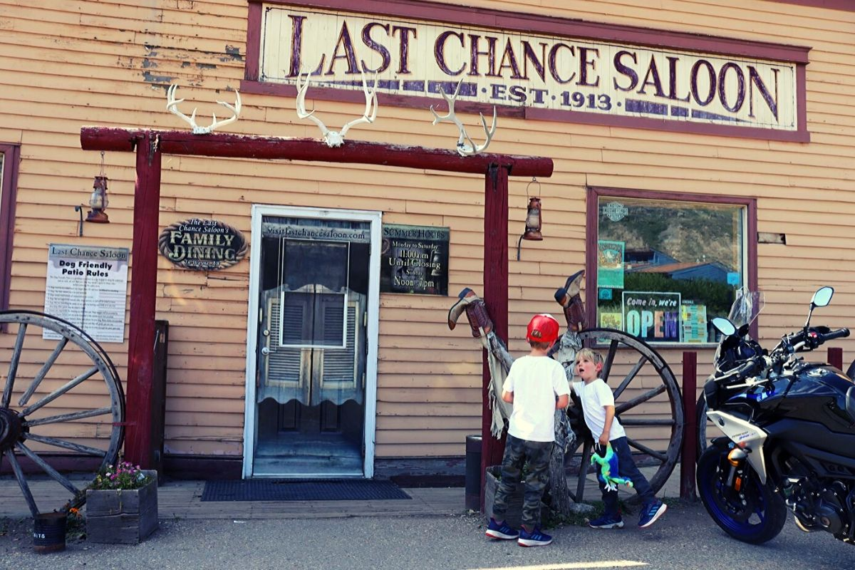 Last Chance Saloon in Wayne