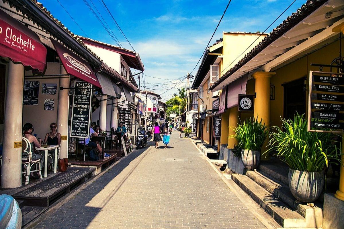 Leyn Baan Street in Galle
