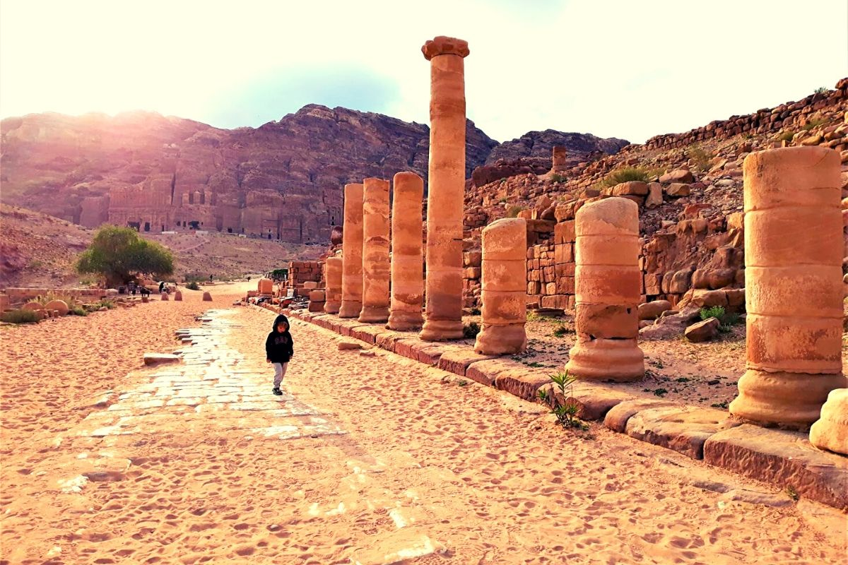 Colonnaded Street Petra