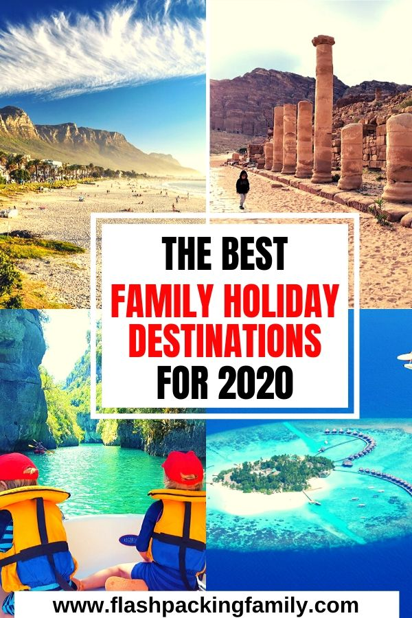 The Best Family Holiday Destinations for 2020