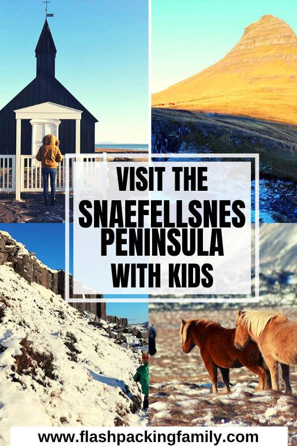 Visit the Snaefellsnes Peninsula with kids