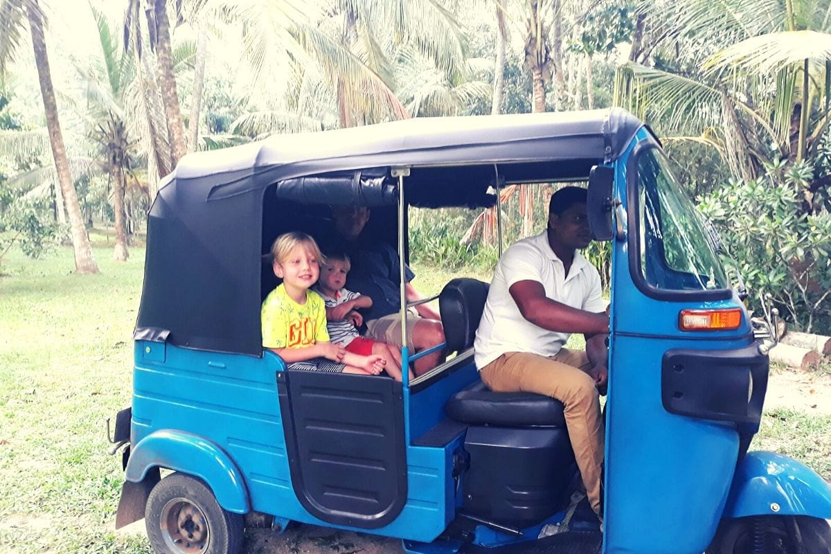 Travel in Sri Lanka with Kids
