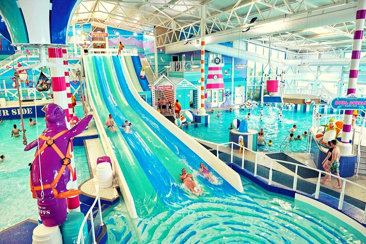 Hafan y Mor indoor pool