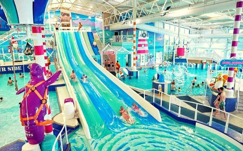 Hafan y Mor indoor pool area Photo credit Hafan y Mor