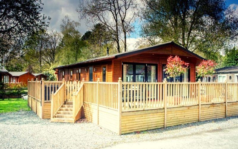 Lodge accommodation at White Cross Bay.
