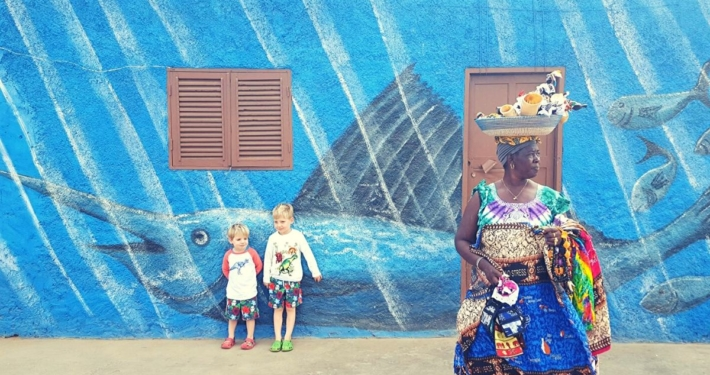Colourful Sal in Cape Verde