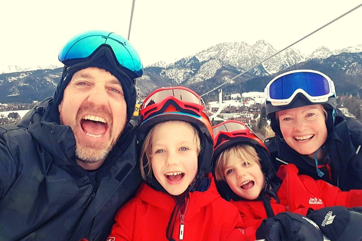 Family ski trip to Zakopane