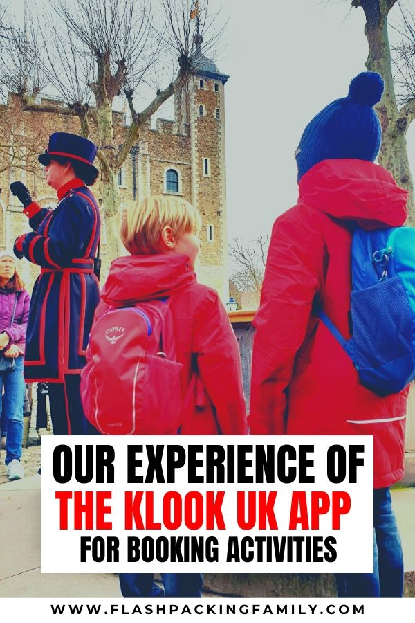 Our experience of the Klook UK App for booking activities