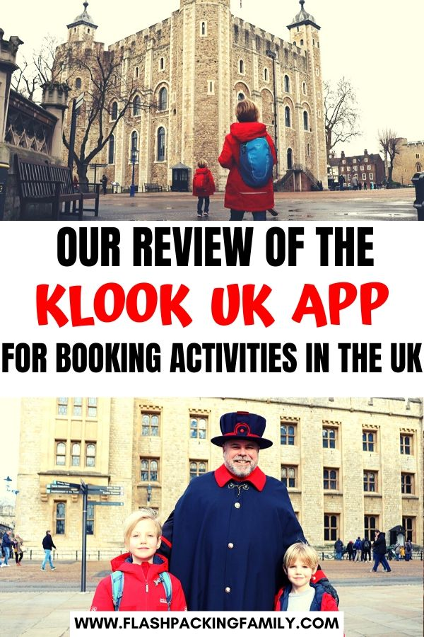 Our review of the klook uk app for booking activities in the UK