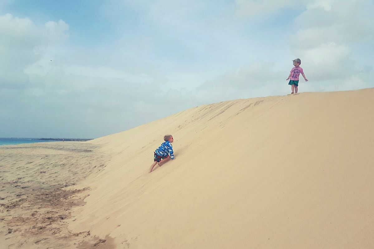 Sand Dunes in Sal Cape Verde