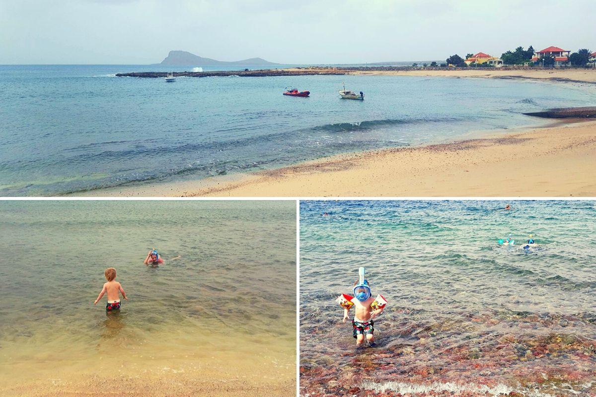 Snorkelling at Mudeira in Sal, Cape Verde