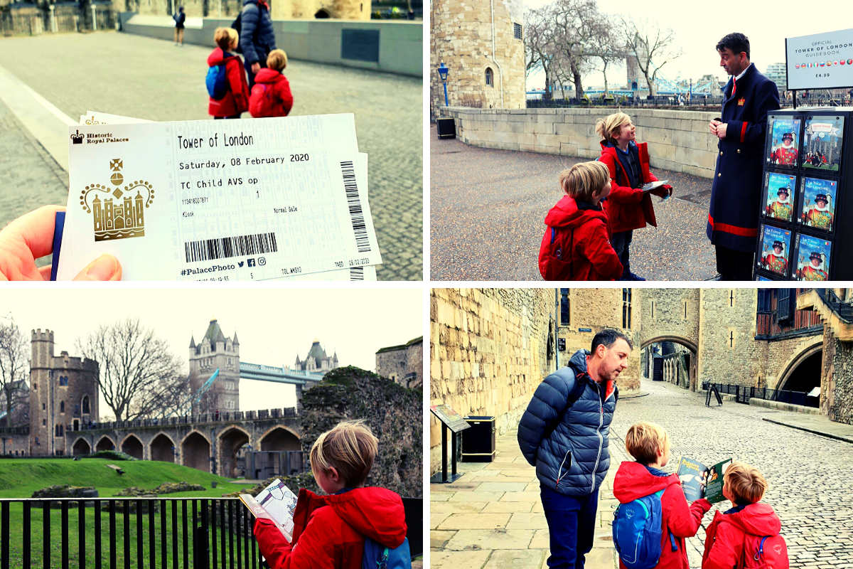 The benefits of arriving early at the Tower of London