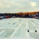 The Snowlandia Maze in Zakopane