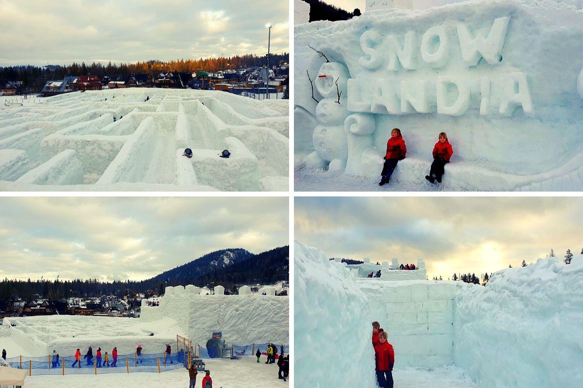 Snowlandia Zakopane's Ice Maze