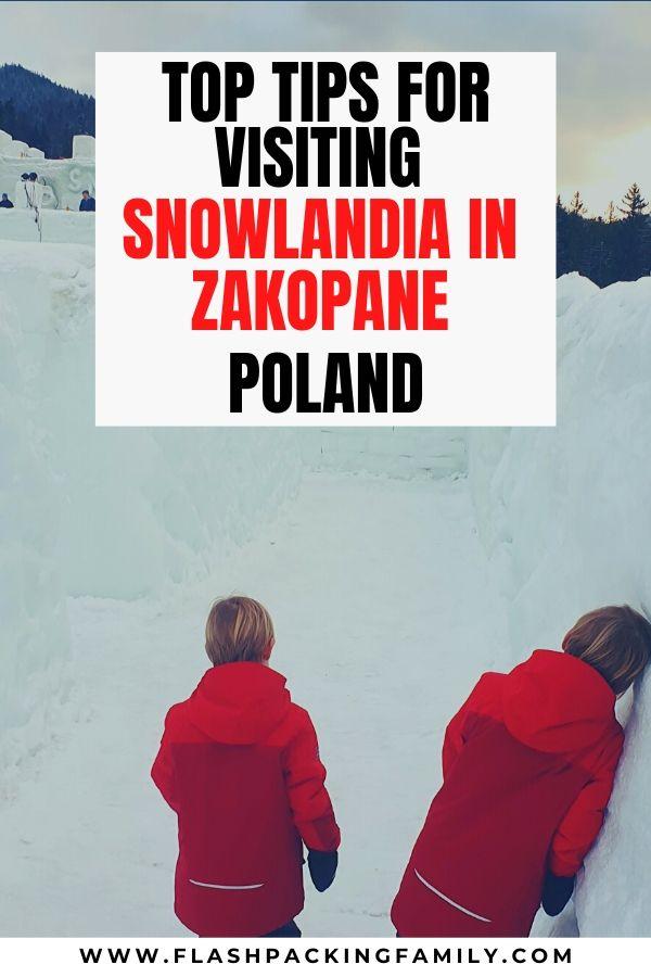 Top Tips for Visiting Snowlandia in Zakopane Poland