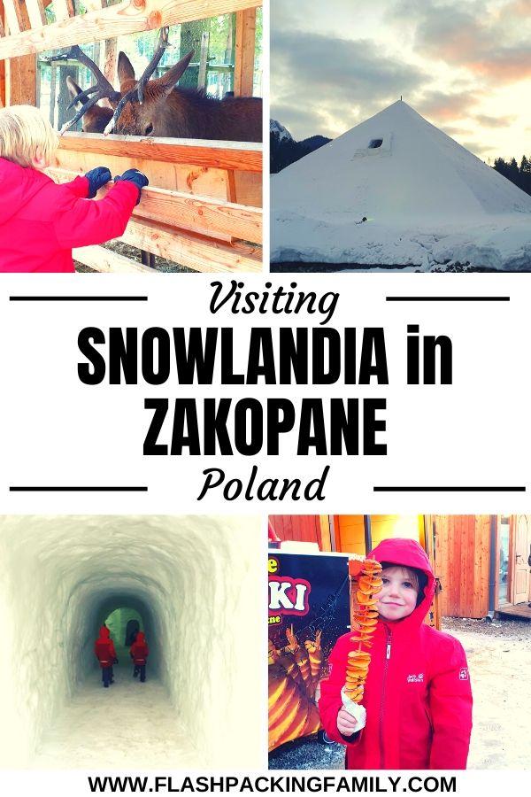 Visiting Snowlandia in Zakopane Poland