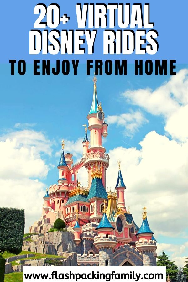20+ Amazing Virtual Disney Rides to Enjoy from the Comfort of your Home 1