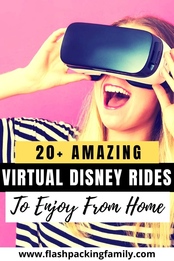 20+ amazing virtual disney rides to Enjoy from Home
