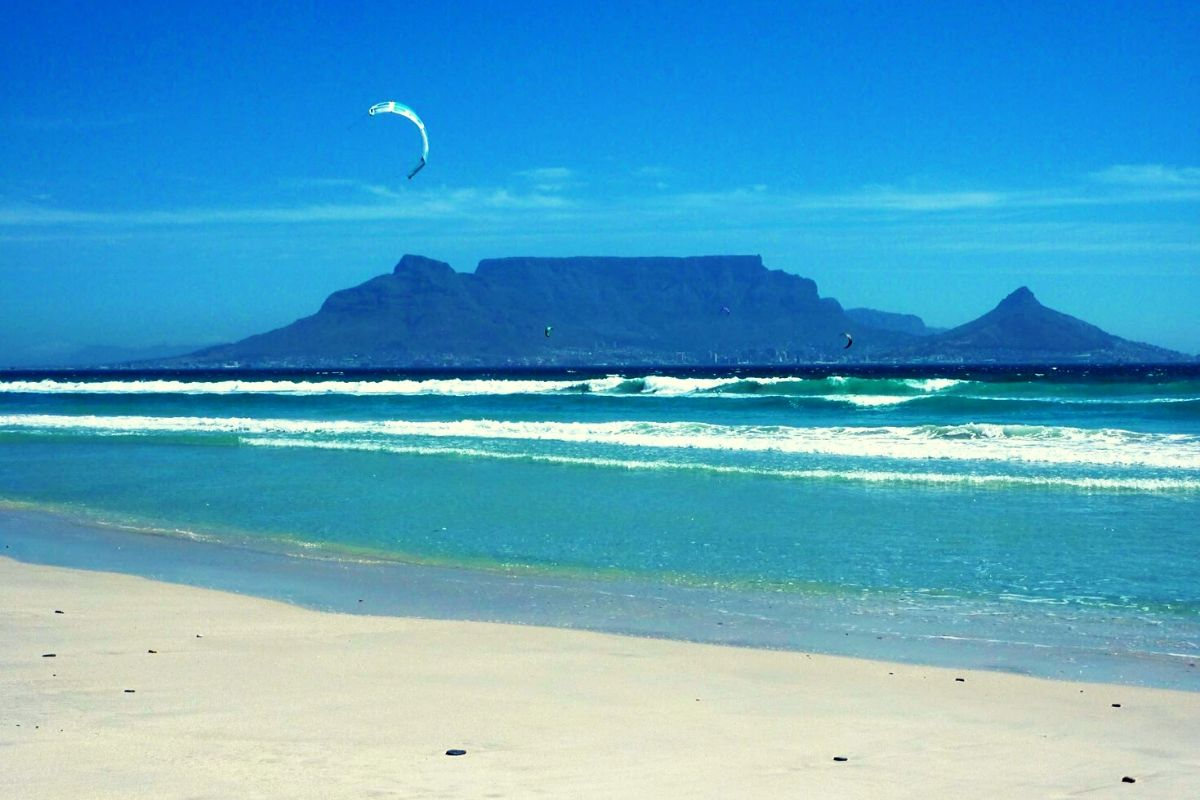 Bloubergstrand in Cape Town