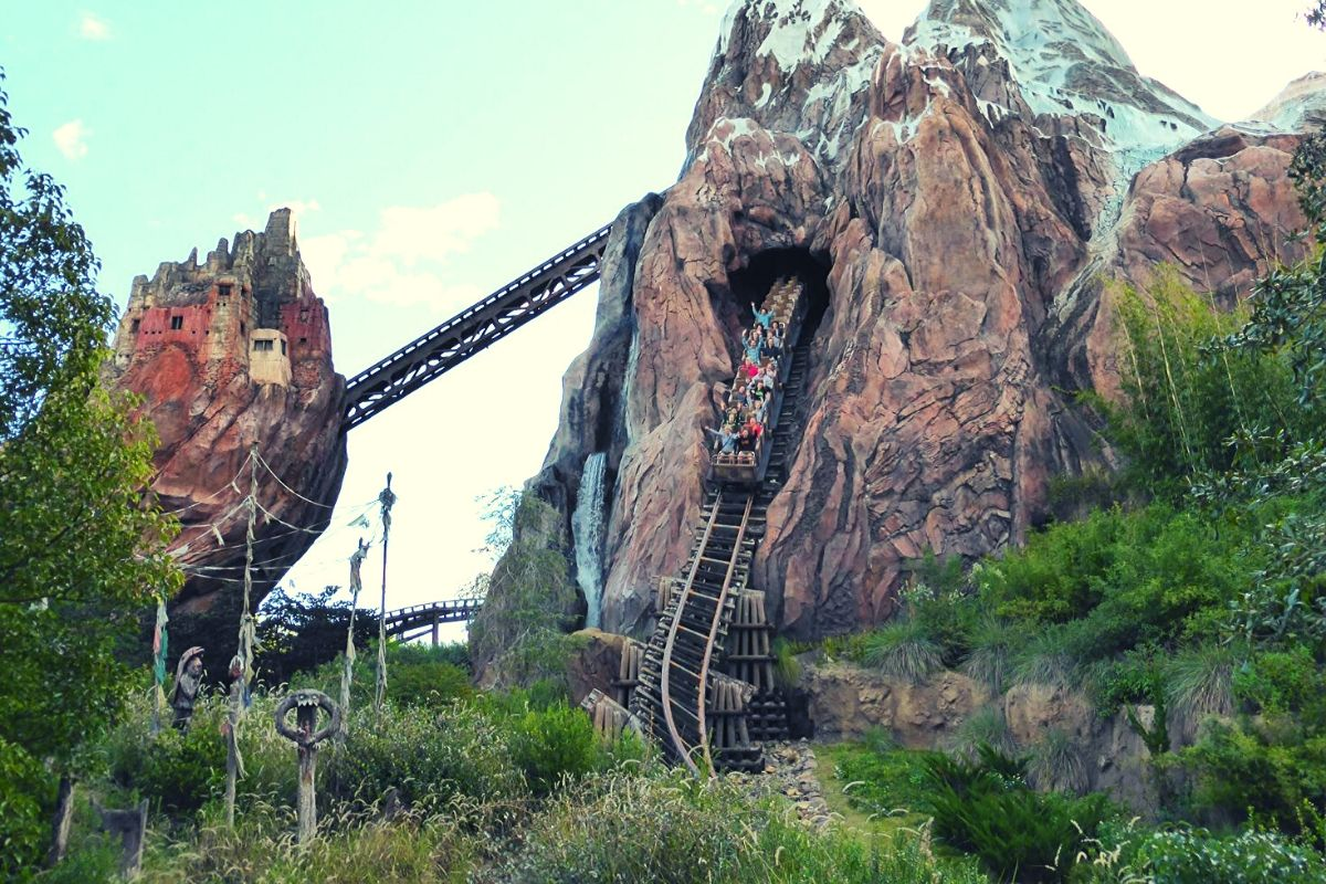 Virtual Disney rides like Expedition Everest are the next best thing to the real deal