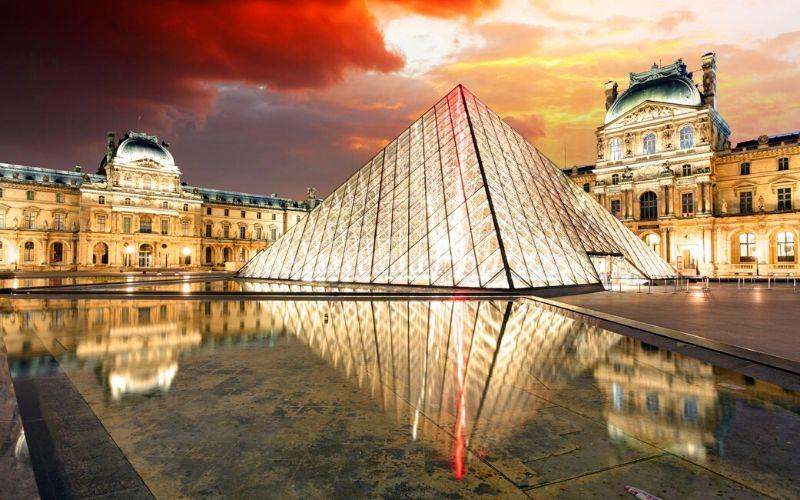 Louvre France Family Travel Destination