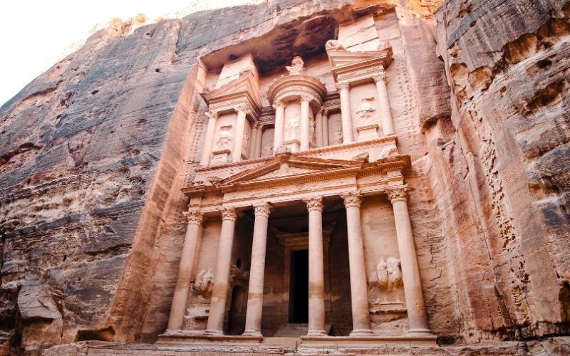 The treasury in Petra Jordan Family Travel Destination