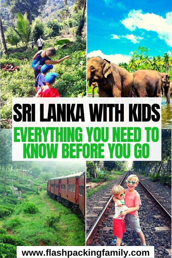 Sri Lanka with Kids Everything you need to know before you go