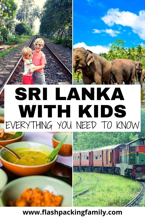 Sri Lanka with Kids Everything you need to know