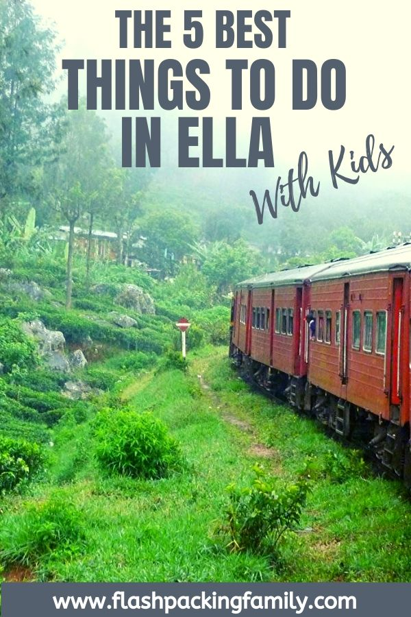 The 5 Best Things to do in Ella with Kids