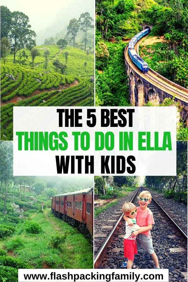 The 5 Best Things to do in Ella Sri Lanka with Kids