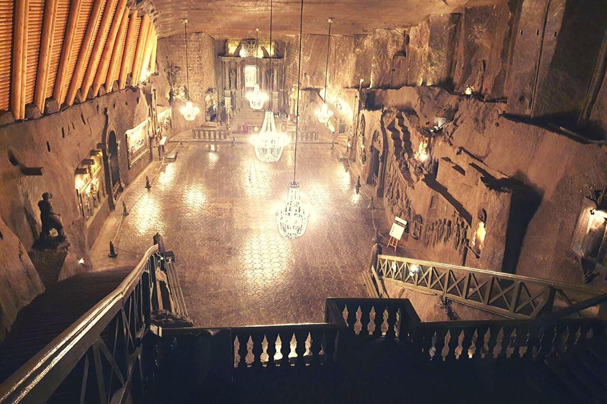 The Chapel in the Wieliczka Salt Mine