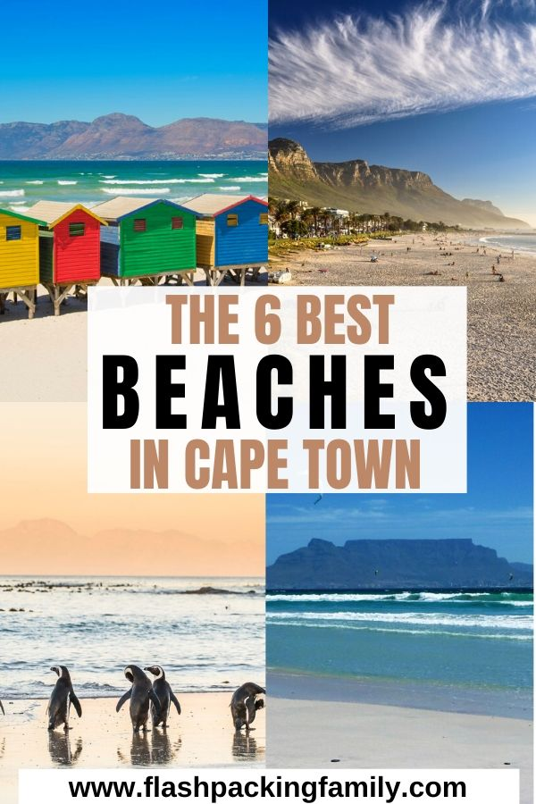 The Six Best Beaches in Cape Town