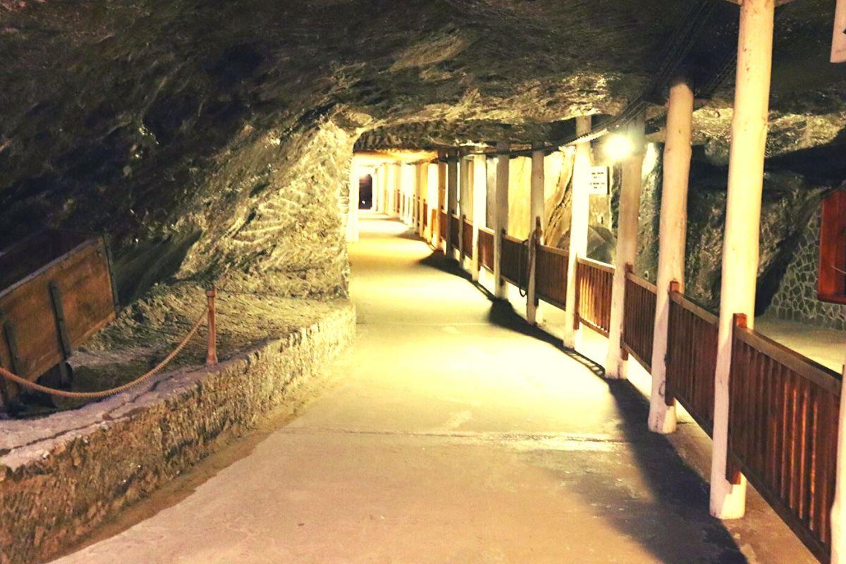 Tunnels in the Wieliczka Salt Mine