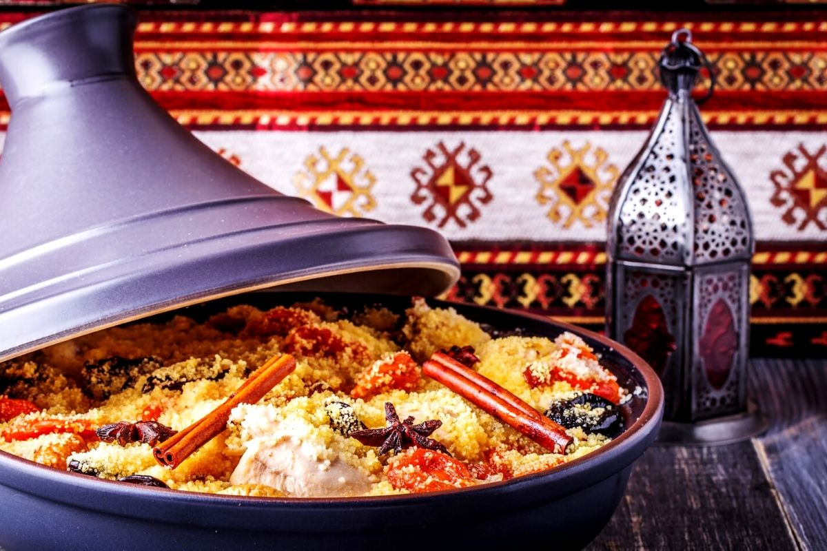 Typical Moroccan tagine