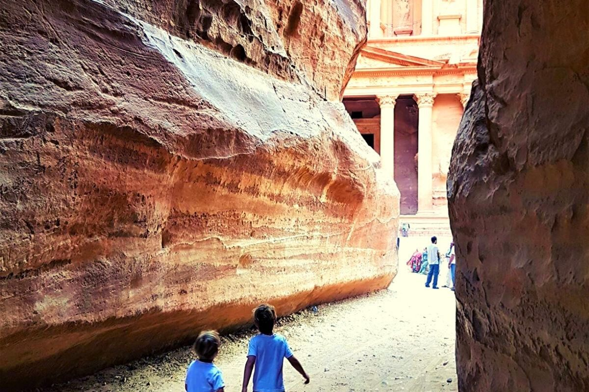 Visiting Petra with Kids