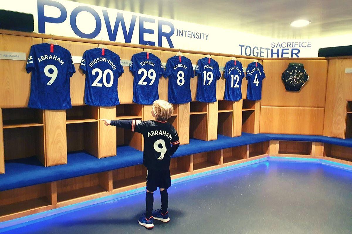 Chelsea Football Club Home Dressing Room