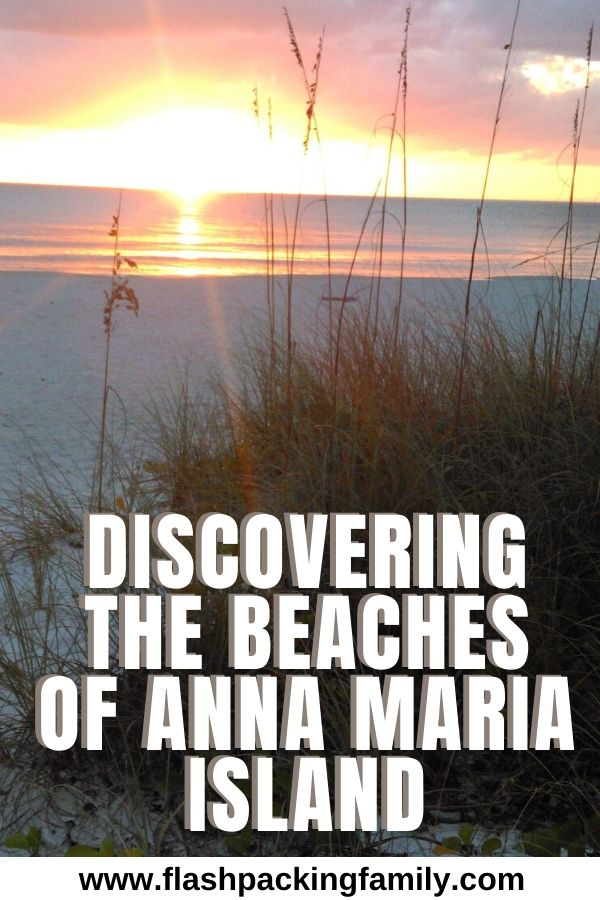 Discovering the beaches of anna maria island