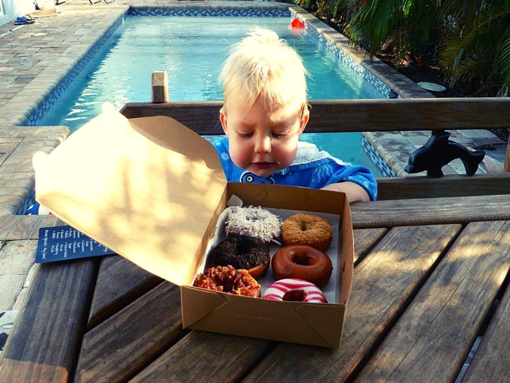 Donuts from the Donut Experiment Anna Maria Island