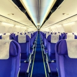 Empty aeroplane